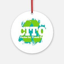 CITO (Dark) Round Ornament