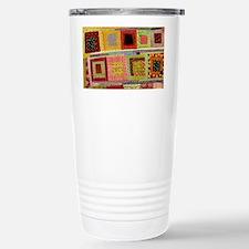 Crazy Quilt Travel Mug