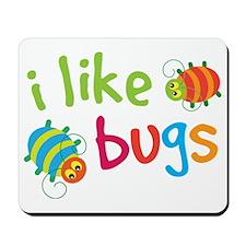 Funny Buggies I Like Bugs Mousepad