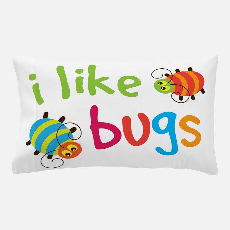 I Like Bugs Kids Pillow Case