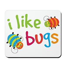 I Like Bugs Kids Mousepad