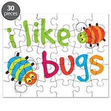 I Like Bugs Kids Puzzle