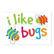 I Like Bugs Kids Postcards (Package of 8)