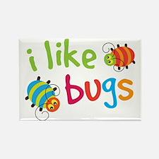 I Like Bugs Kids Rectangle Magnet