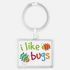 I Like Bugs Kids Landscape Keychain