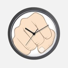 Fist Pump Wall Clock