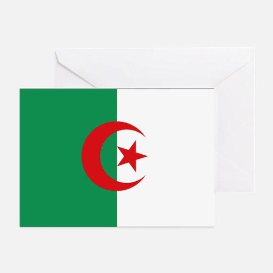 Algerian flag Greeting Cards (Pk of 10)
