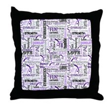 Gymnastics iPad Throw Pillow