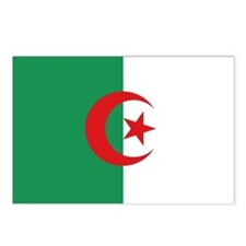 Algerian flag Postcards (Package of 8)