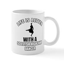 SCOTTISH HIGHLAND dance designs Mug