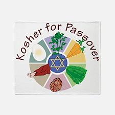 Kosher For Passover Throw Blanket