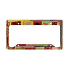 National Quilting Day 2013 License Plate Holder
