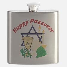 Happy Passover Flask