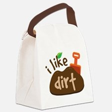 I Like Dirt Canvas Lunch Bag