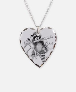 Raccoon Play Necklace