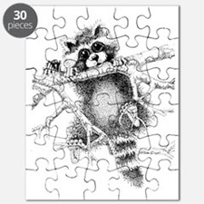 Raccoon Play Puzzle
