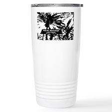 BlacknWhite Palm Spring Travel Mug