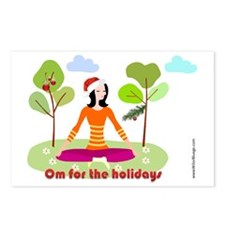 Om for the Holidays Postcards (Package of 8)
