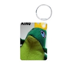 I am the King Frog Cell Ph Keychains