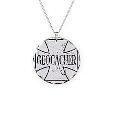 Geocacher Iron Cross Necklace
