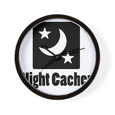 Night Cacher Wall Clock