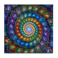 Spherial Shell Beads Blanket Tile Coaster