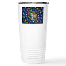 Spherial Shell Beads Bl Travel Mug