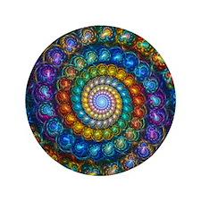 "Spherial Shell Beads Blanket 3.5"" Button"
