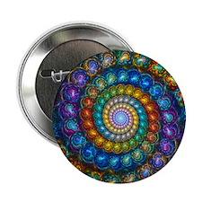 "Spherial Shell Beads Blanket 2.25"" Button"