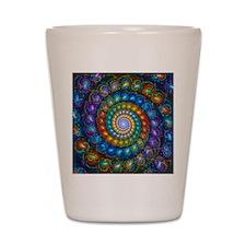 Spherial Shell Beads Blanket Shot Glass