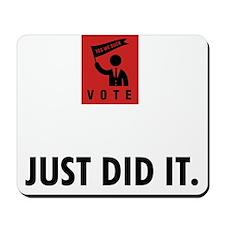 Politician-ABP1 Mousepad