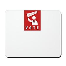 Politician-ABP2 Mousepad