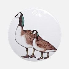 Canada Geese Round Ornament