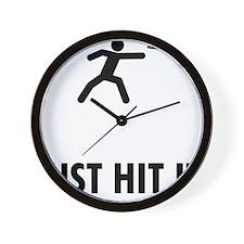 Frisbee-ABQ1 Wall Clock