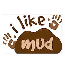 I Like Mud Postcards (Package of 8)