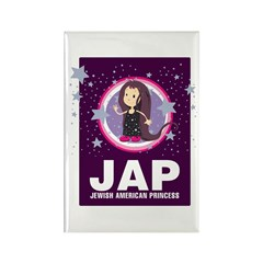 JAP - Jewish American Princes Rectangle Magnet