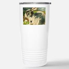 Large Easter Bunny Rabb Travel Mug