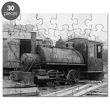 Antique Vintage Chicago Railroad Train Engi Puzzle