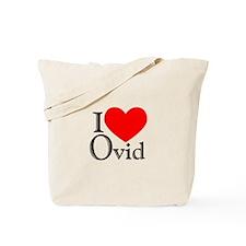 I Love Ovid Tote Bag