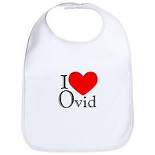 I Love Ovid Bib