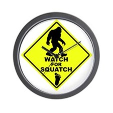 Watch fot Squatch Wall Clock