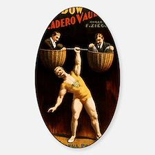 strongman Sticker (Oval)