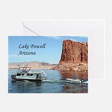 Lake Powell, Arizona, USA (caption)  Greeting Card