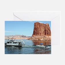 Lake Powell, Arizona, USA Greeting Card