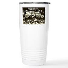Early Vintage Lowell Mi Travel Mug
