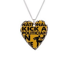 Today is national kick a poli Necklace
