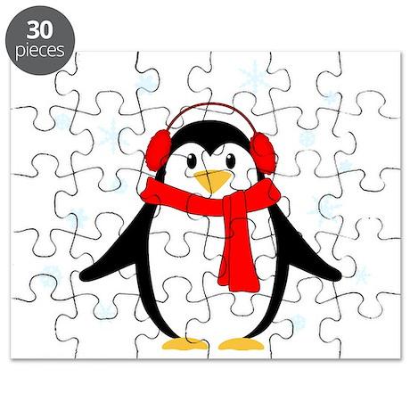 Winter Penguin Puzzle