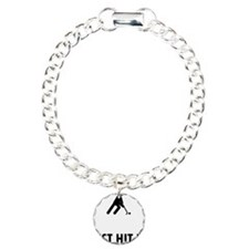 Field-Hockey-ABQ1 Charm Bracelet, One Charm