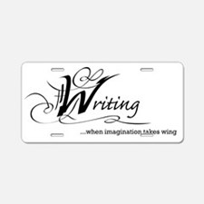 Imagination takes wing Aluminum License Plate