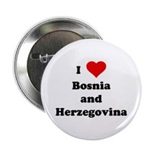 I Love Bosnia and Herzegovina Button